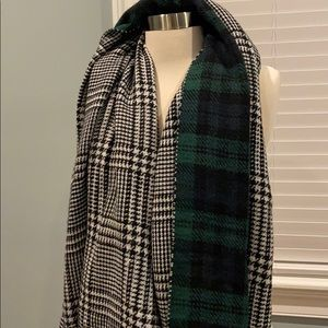 Double sided thick scarf
